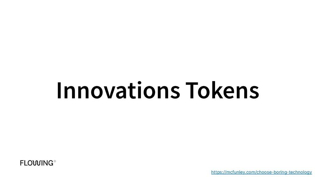 Innovations Tokens https://mcfunley.com/choose-...
