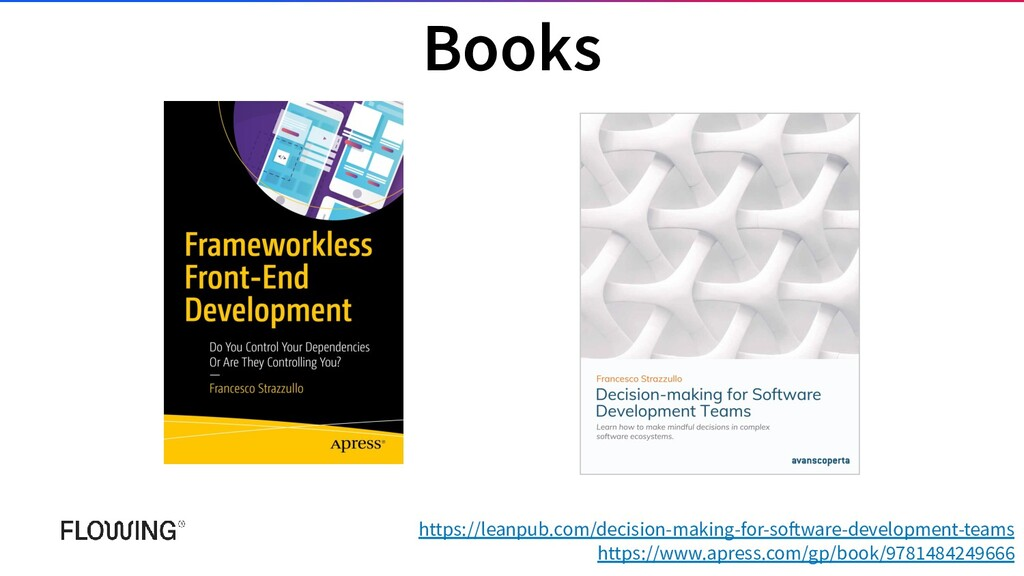Books https://leanpub.com/decision-making-for-s...