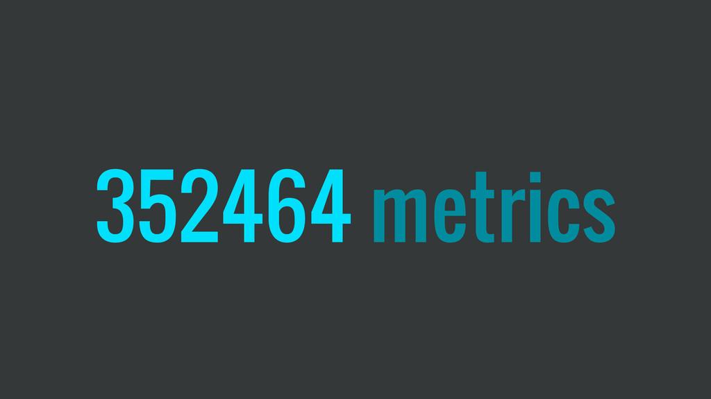 352464 metrics