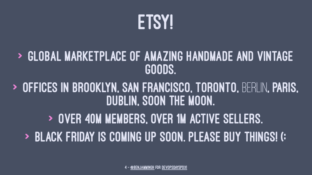 ETSY! > Global marketplace of amazing handmade ...