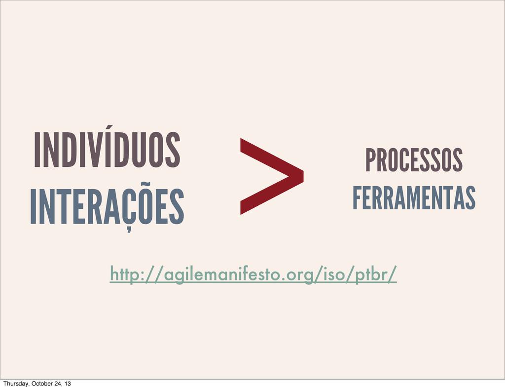 INDIVÍDUOS INTERAÇÕES PROCESSOS FERRAMENTAS > h...