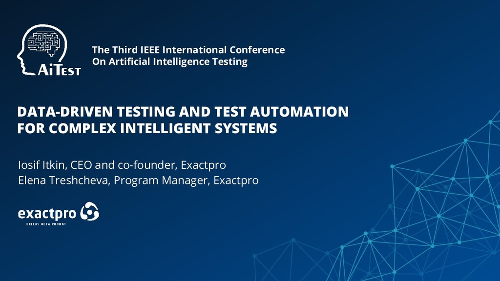 The Third IEEE International Conference On Arti...