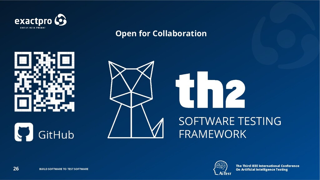 BUILD SOFTWARE TO TEST SOFTWARE 26 The Third IE...