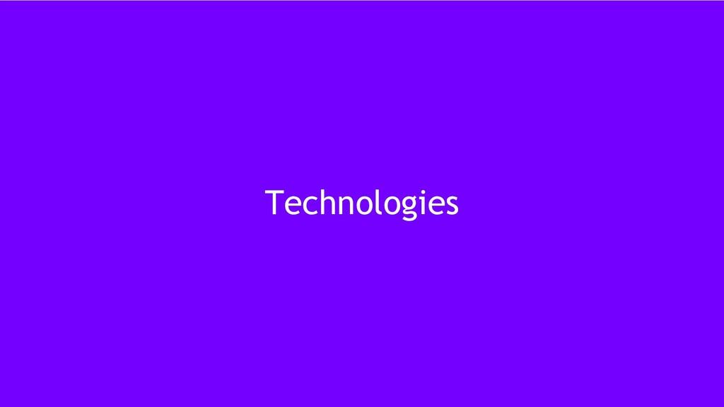 11 Technologies