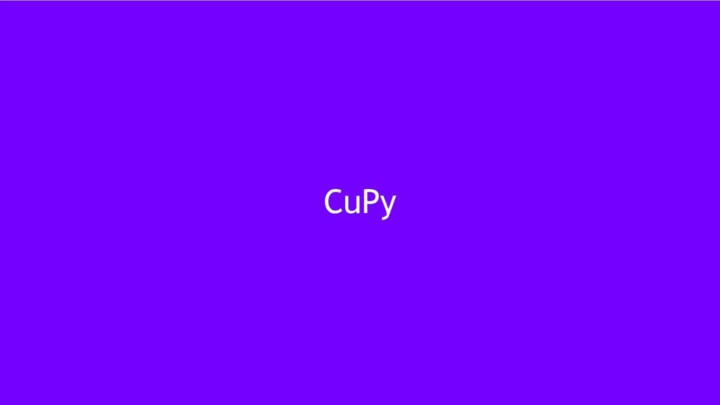 18 CuPy