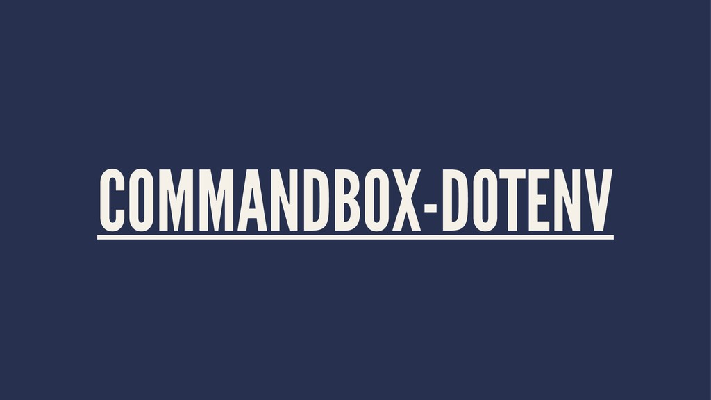 COMMANDBOX-DOTENV
