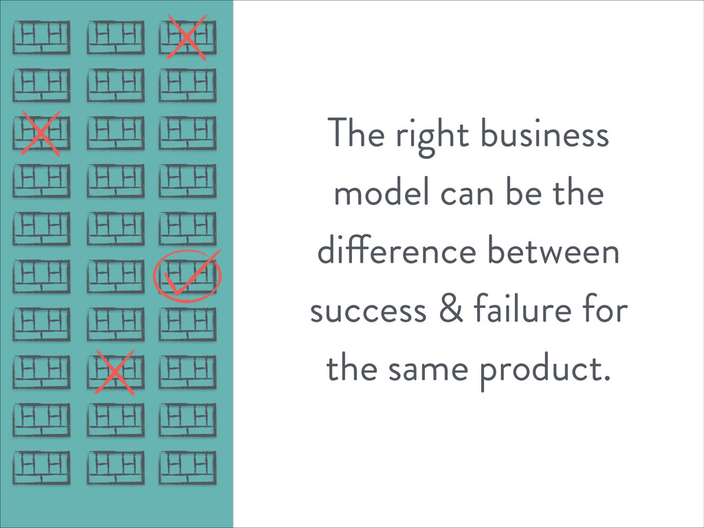 The right business model can be the difference ...