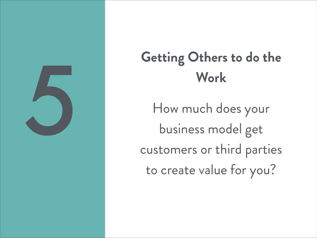 Getting Others to do the Work ! How much does y...