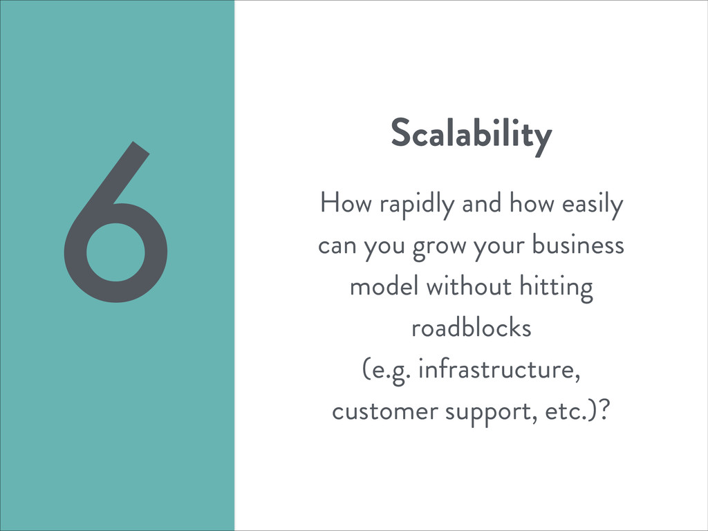 Scalability ! How rapidly and how easily can yo...