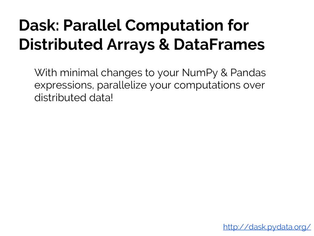 #JSM2016 Jake VanderPlas Dask: Parallel Computa...