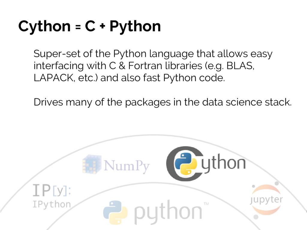 #JSM2016 Jake VanderPlas Cython = C + Python Su...