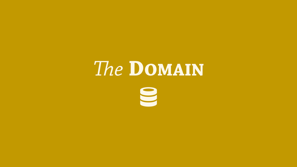 The DOMAIN (