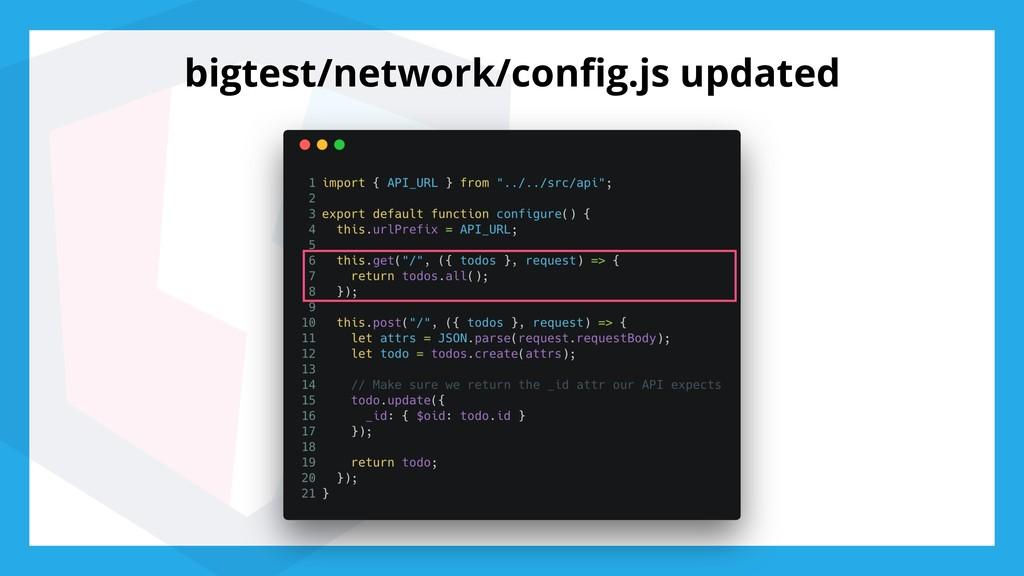 bigtest/network/config.js updated