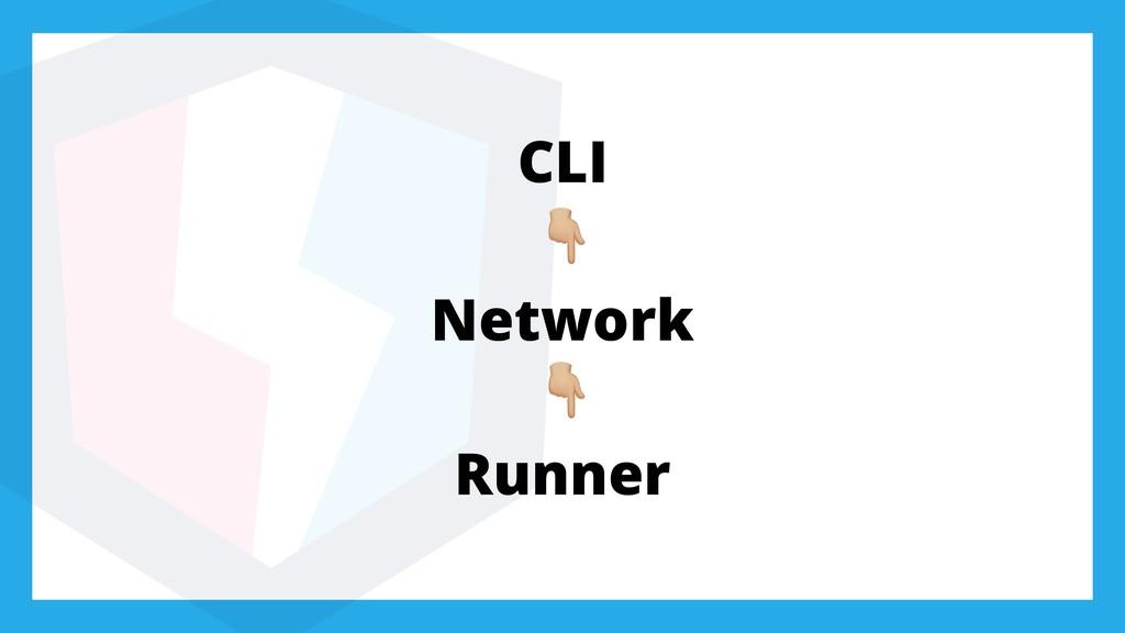 CLI + Network + Runner