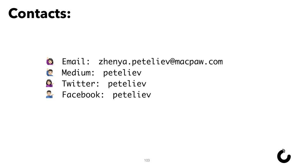 Contacts: Email: zhenya.peteliev@macpaw.com ¡ M...