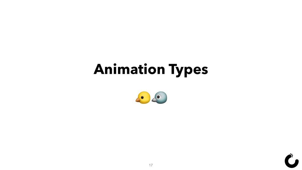 Animation Types  17