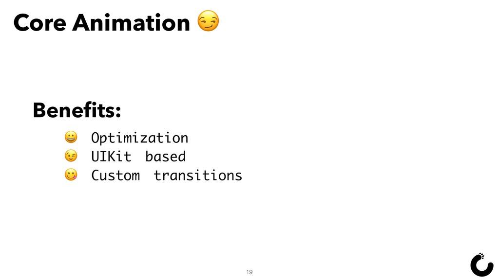 Core Animation   Optimization  UIKit based  Cus...