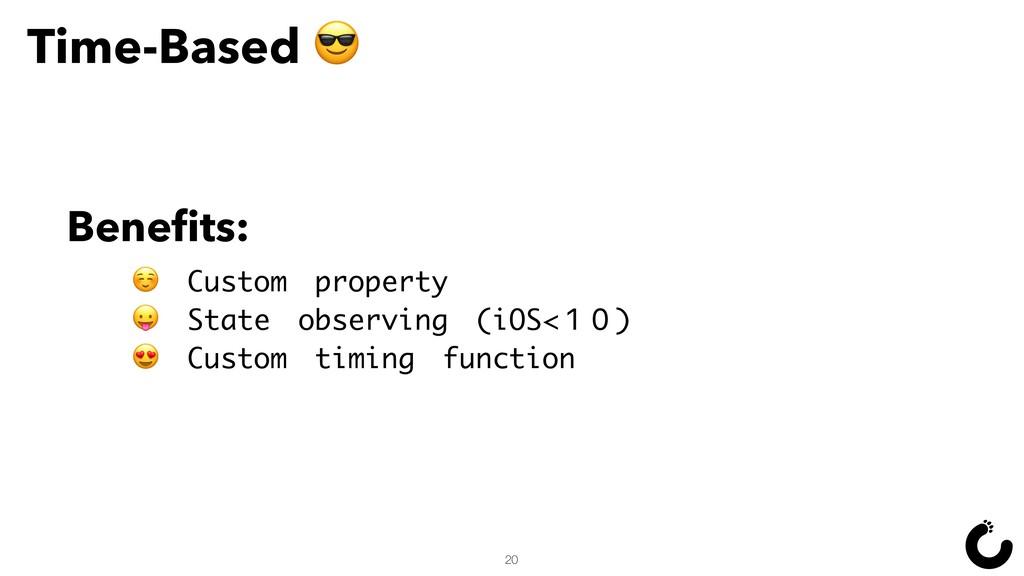 ☺ Custom property  State observing (iOS<10)  Cu...