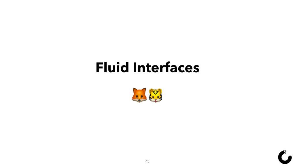 Fluid Interfaces  45