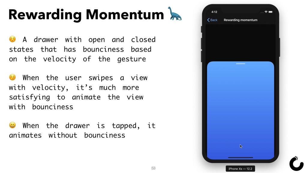 53 Rewarding Momentum  ☺ A drawer with open and...