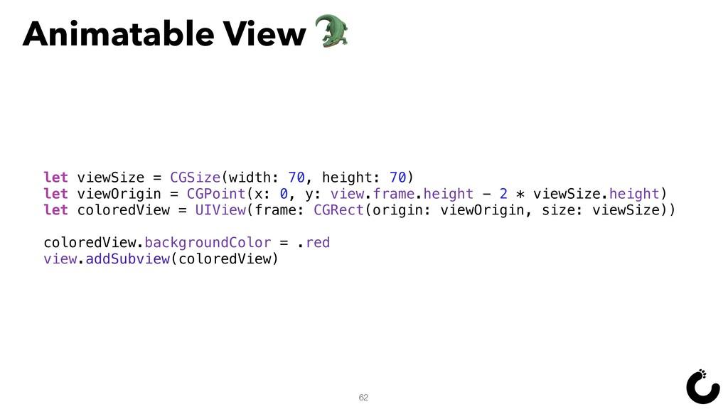 62 let viewSize = CGSize(width: 70, height: 70)...