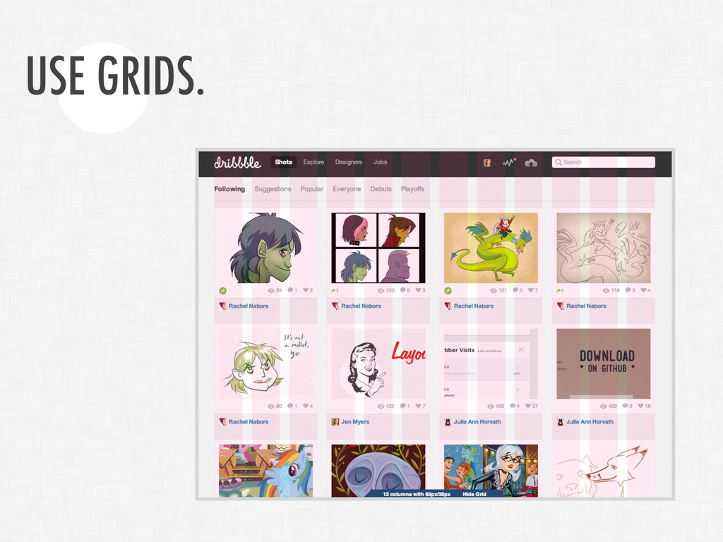 USE GRIDS.
