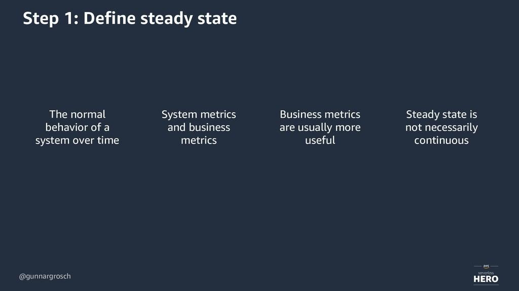 @gunnargrosch Step 1: Define steady state The n...