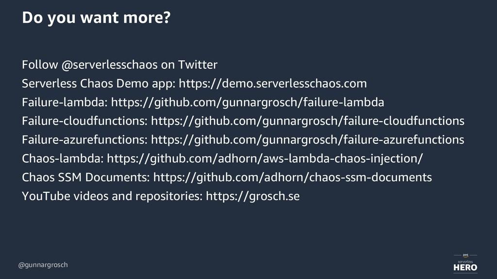 @gunnargrosch Do you want more? Follow @serverl...