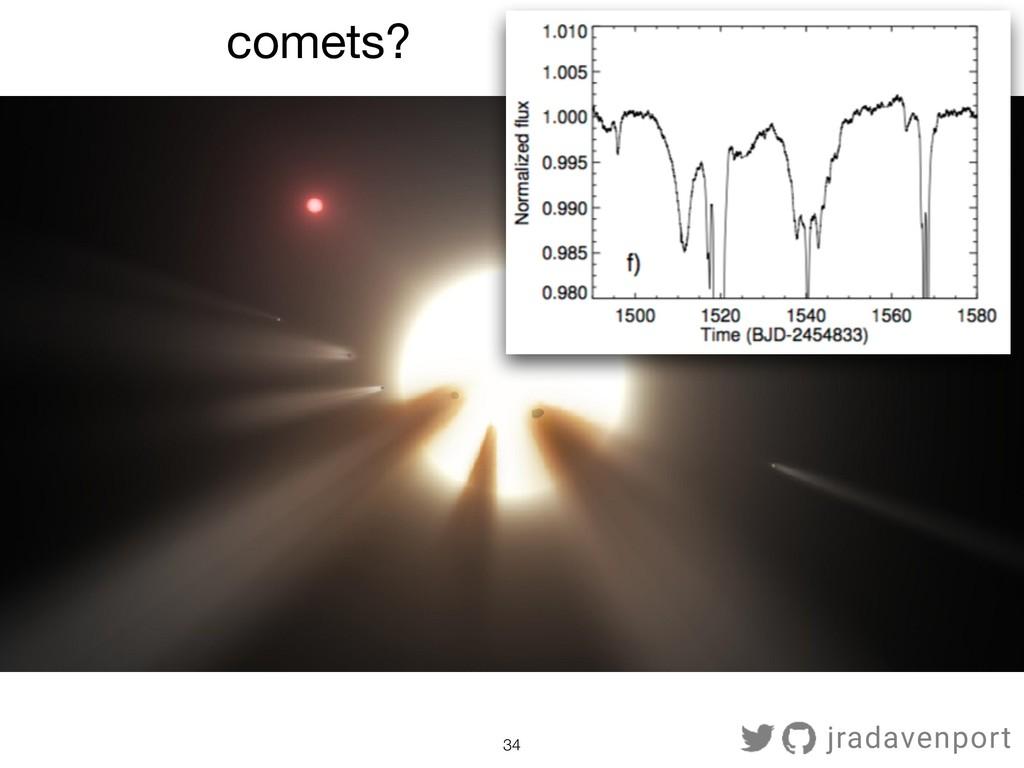 !34 comets? jradavenport