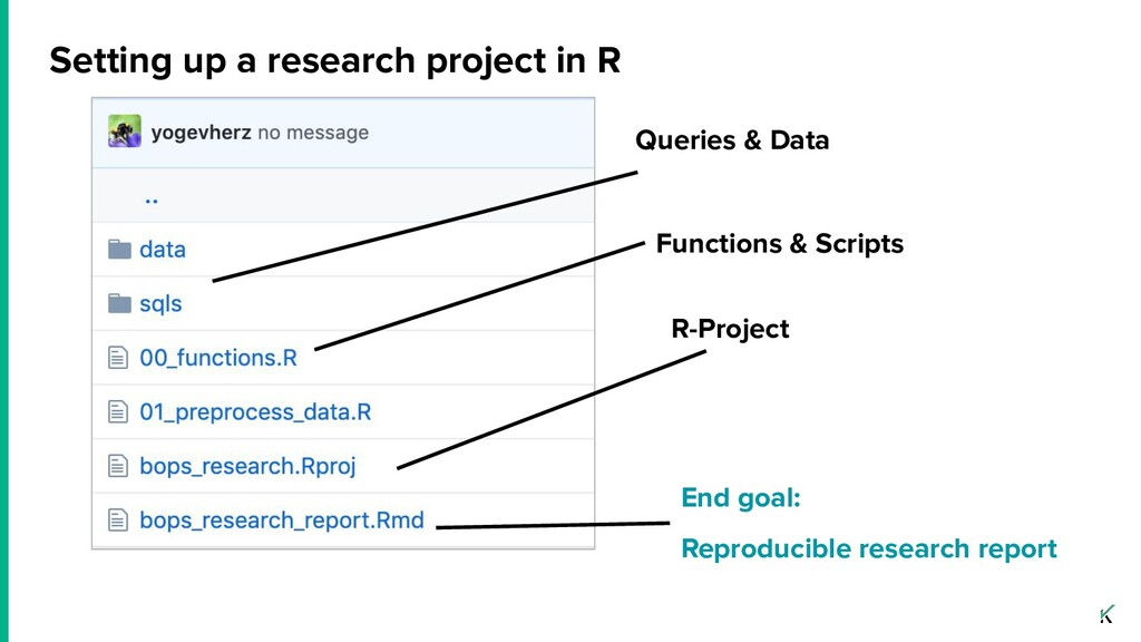 Setting up a research project in R R-Project Qu...