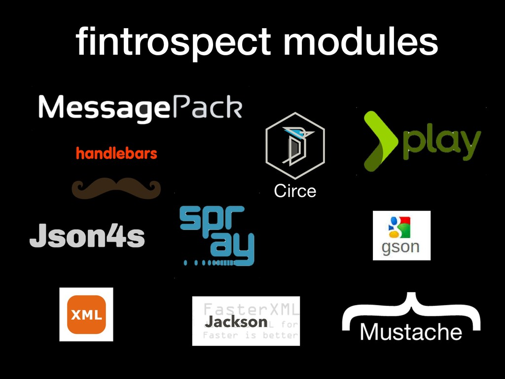 fintrospect modules