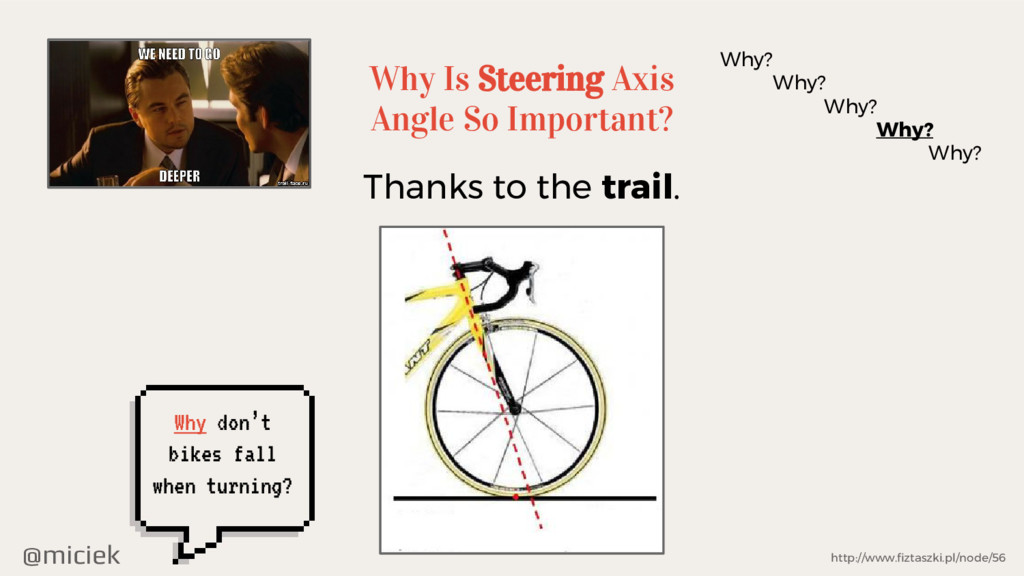 @miciek Why Is Steering Axis Angle So Important...