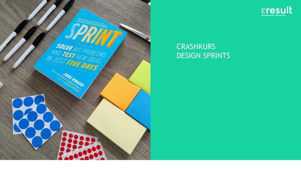 CRASHKURS DESIGN SPRINTS