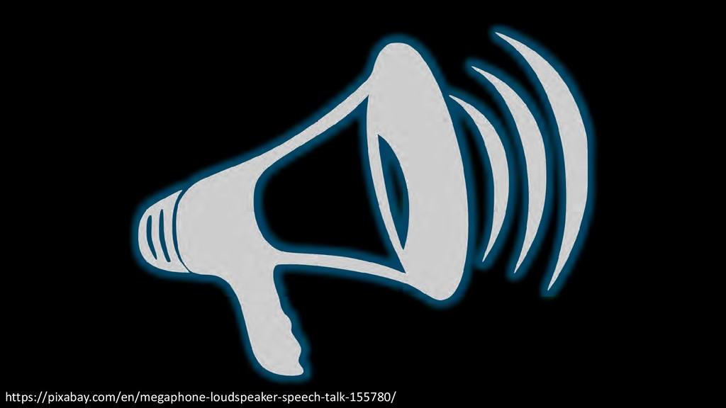 https://pixabay.com/en/megaphone-loudspeaker-sp...