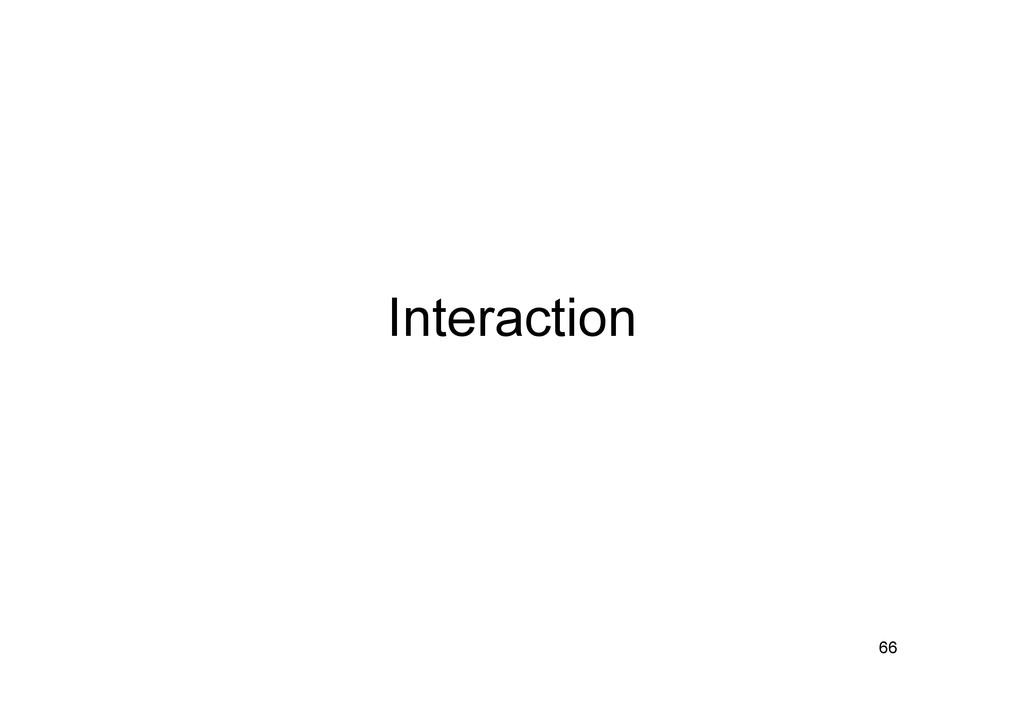 Interaction 66