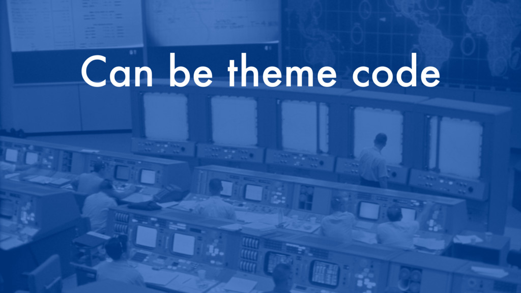 Can be theme code