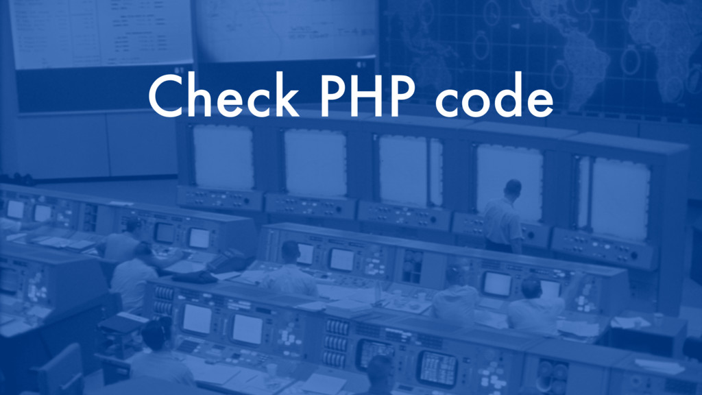 Check PHP code