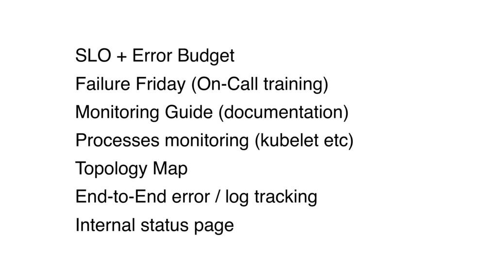 SLO + Error Budget Failure Friday (On-Call trai...