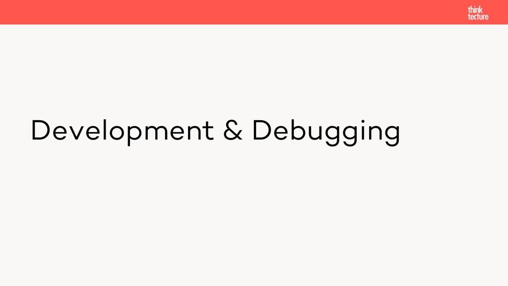 Development & Debugging