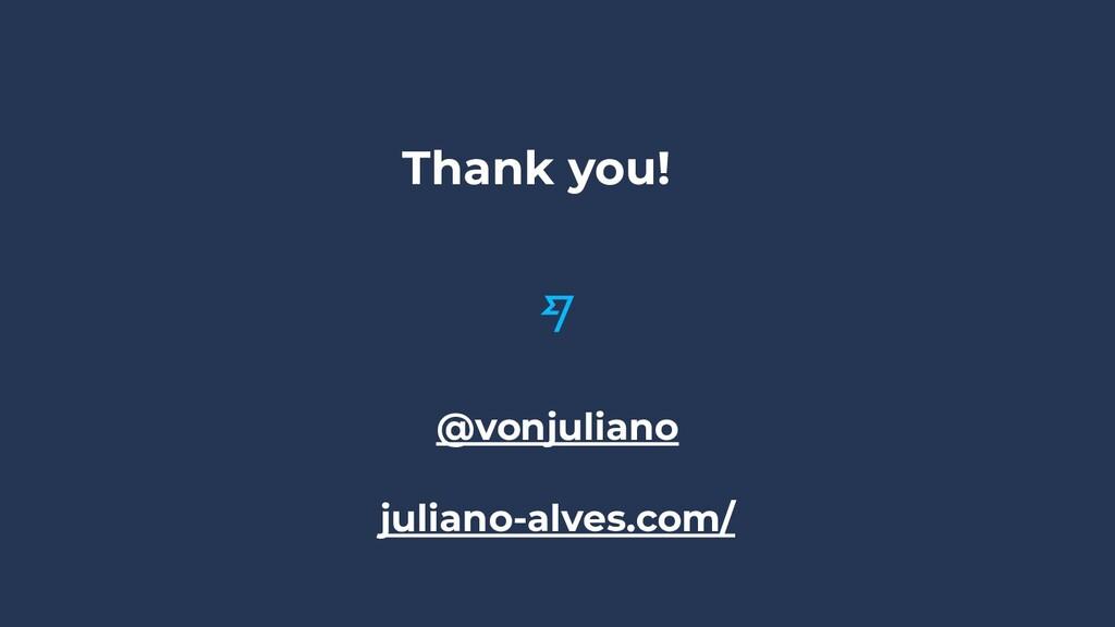 Thank you! @vonjuliano juliano-alves.com/