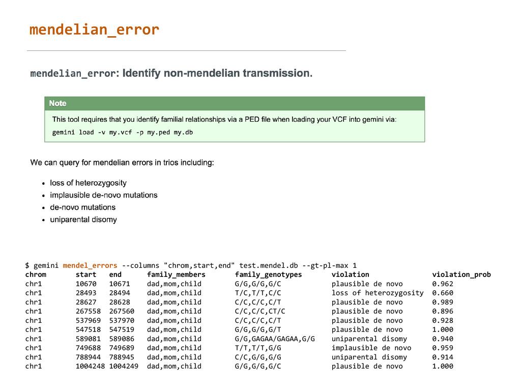 mendelian_error $ gemini mendel_errors ...