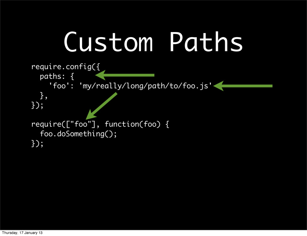 require.config({ paths: { 'foo': 'my/really/lon...