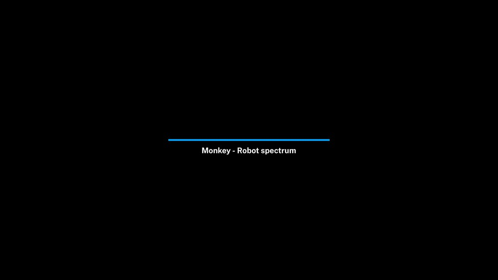 Monkey - Robot spectrum