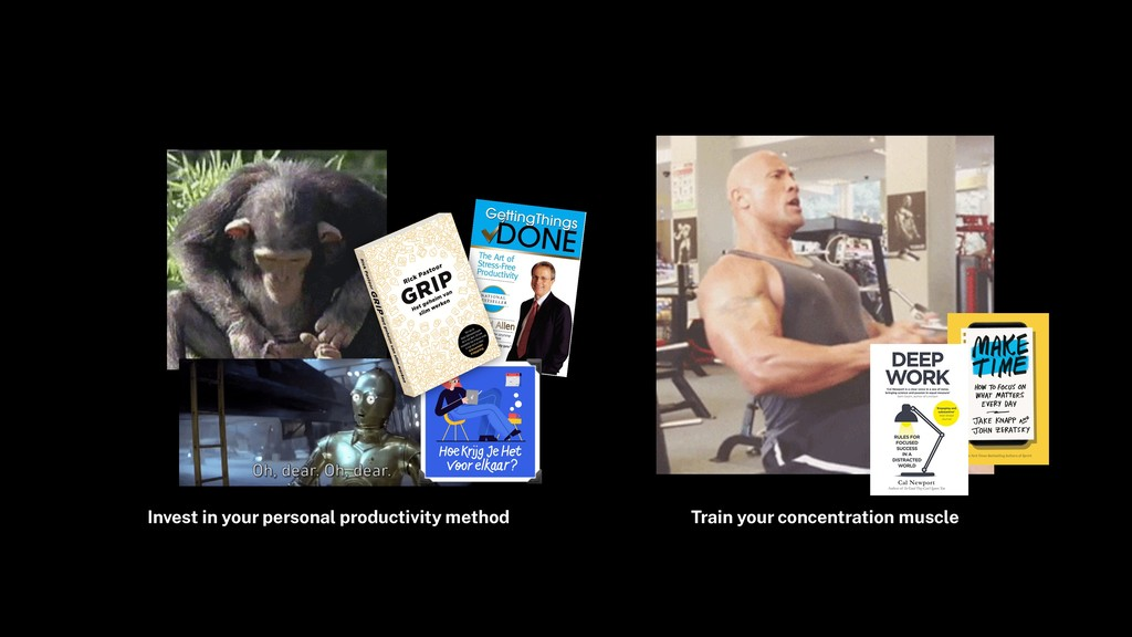 Invest in your personal productivity method Tra...