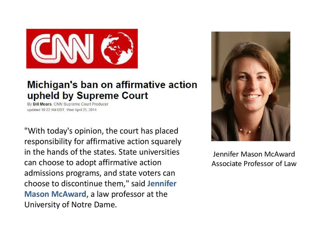Jennifer Mason McAward Associate Professor of L...