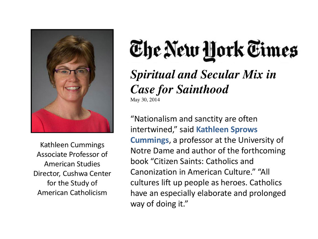 Kathleen Cummings Associate Professor of Americ...