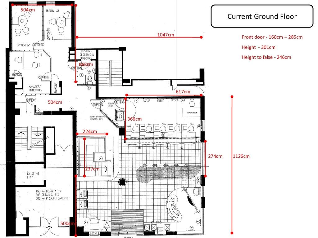Current Ground Floor 663cm 504cm 366cm 617cm 11...