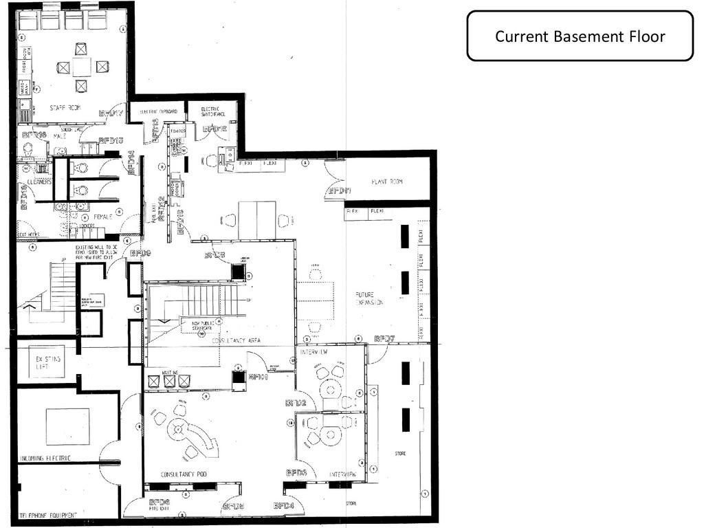 Current Basement Floor