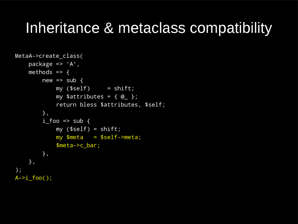 Inheritance & metaclass compatibility MetaA->cr...