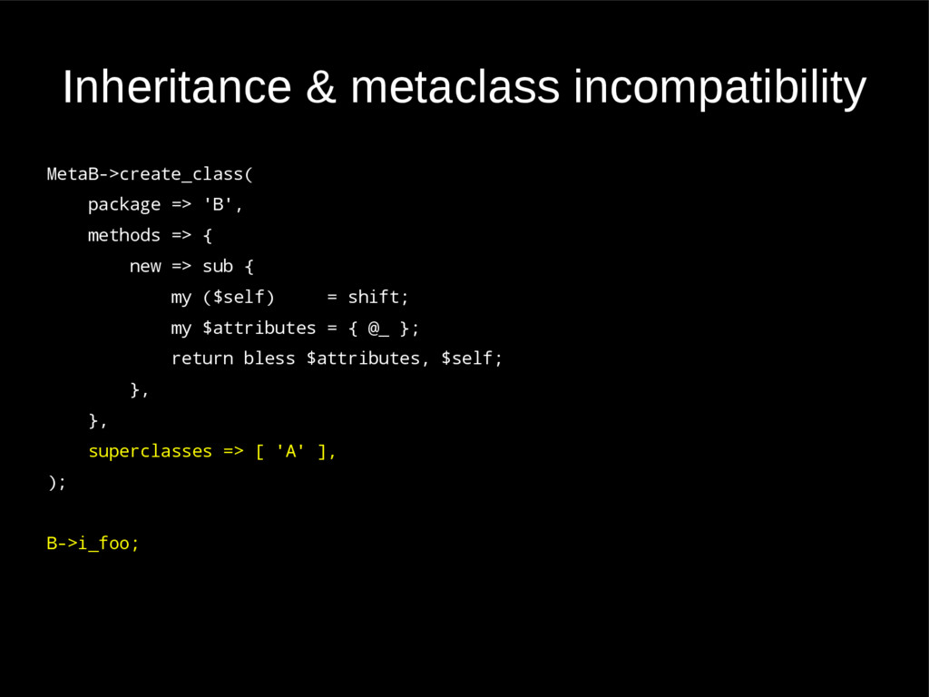 Inheritance & metaclass incompatibility MetaB->...